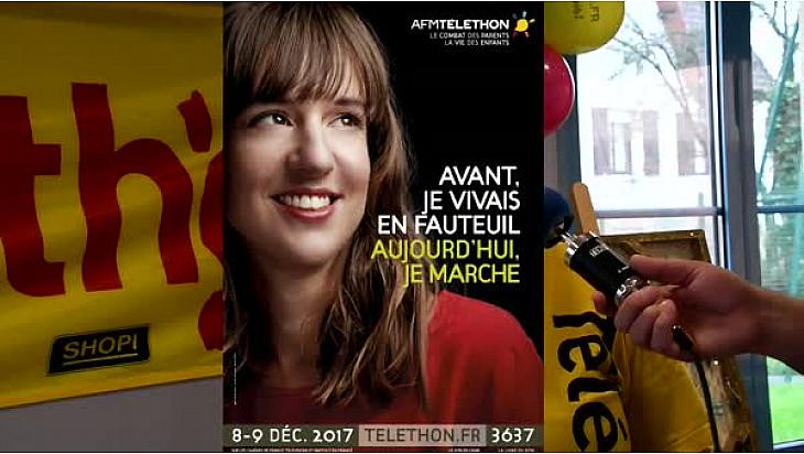 Téléthon 2017 Jocelyne créatrice de Bijoux participe au Théléthon d'Arques