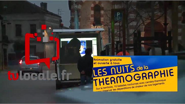 La Communauté de communes GRAND SUD TARN ET GARONNE lance les Nuits de la thermographie @Tarnetgaronne_CG #Localinfo.fr @TvLocale_fr