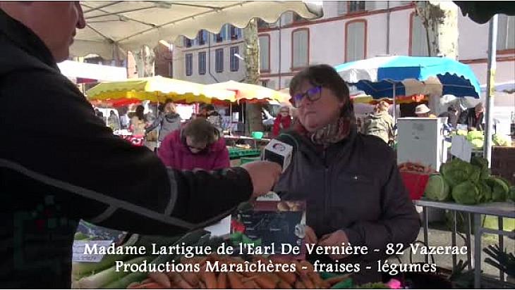 Annuaire Circuit-Court.Localinfo.fr : EARL De Vernière à Vazerac - Tarn-et-Garonne Producteurs de Fraises et de Légumes de printemps