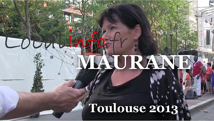MAURANE était à Toulouse le 14 juillet 2013