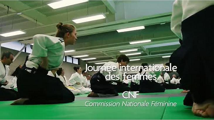 Aïkido: Stage à l'occasion de la journée internationale des femmes  FFAB