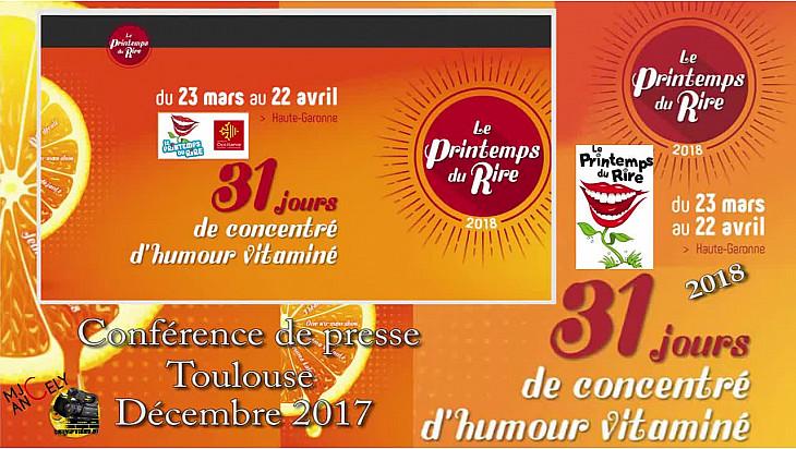 'Le Printemps du Rire ' la 23ème Edition de ce festival de @HauteGaronne aura lieu du 23 mars au 22 avril 2018 @PrintempsduRire