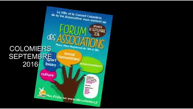 Colomiers  forum des associations #colomiers #TvLocale.fr #association