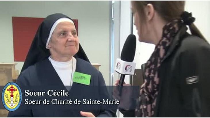 Marcheuses d'Auch - Soeur Cécile - exemple laïque.