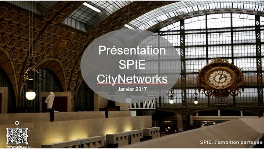 SPIE CityNetworks au Salon des Maires d'IDF 2017: Christian Buywid et Tony Canadas au micro de Michel Lecomte du Réseau Social VeiTech #SPIE_CityNetworks