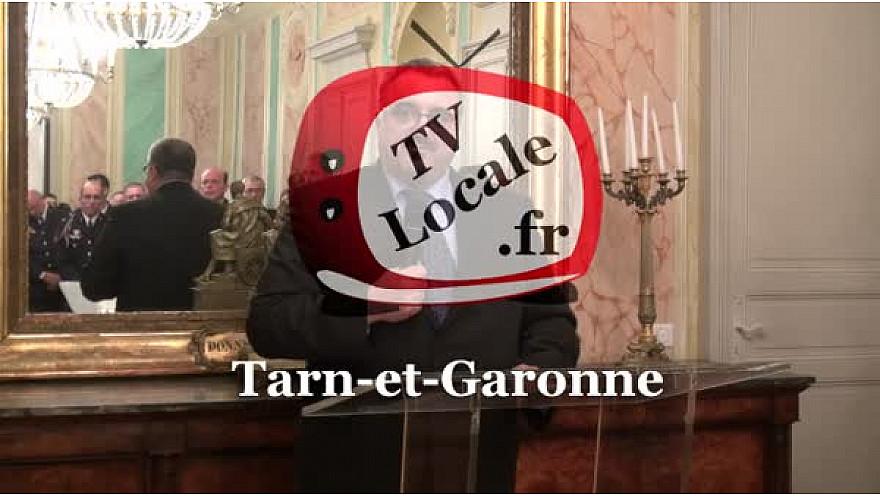 #Montauban Cérémonie des Voeux du Préfet Pierre BESNARD aux Forces de Sécurité du Département du Tarn-et-Garonne  P#TvLocale_fr