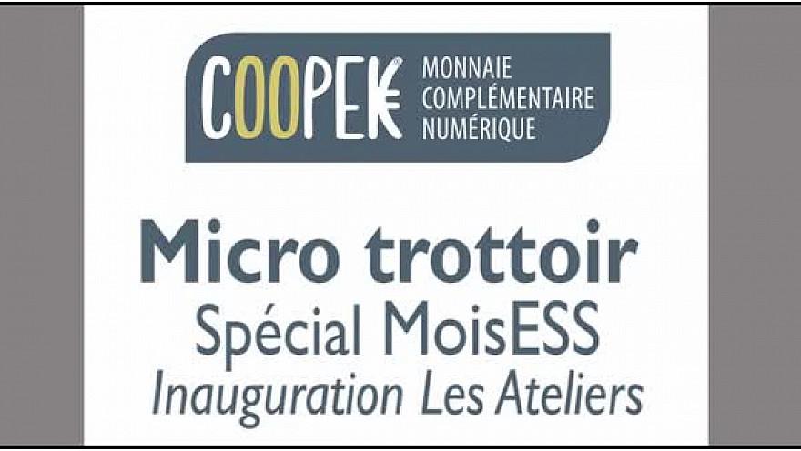 #MoisESS : Micro Trottoir #2 transitions alimentaire et sociale @MonnaieCoopek #TvLocale_fr