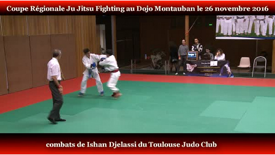 Ju Jitsu Fighting #Occitanie: Ishan Djelassi du Toulouse Judo  à l'Open Régionale à Montauban #JuJitsu