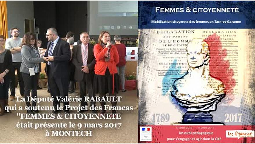 Valérie RABAULT Députée du Tarn-et-Garonne a soutenu le projet des Francas