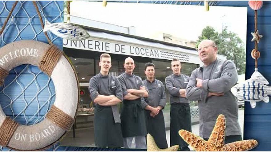 Tv Poisson Corail : Dominique FEBVRE de la 'Poissonnerie de l'Océan' à Annecy  #SCAPP