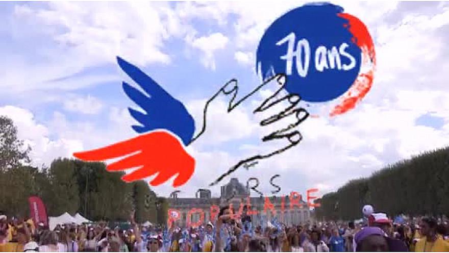Secours Populaire : Journée des Oubliés des Vacances au Champs-de-Mars à Paris @SecoursPop