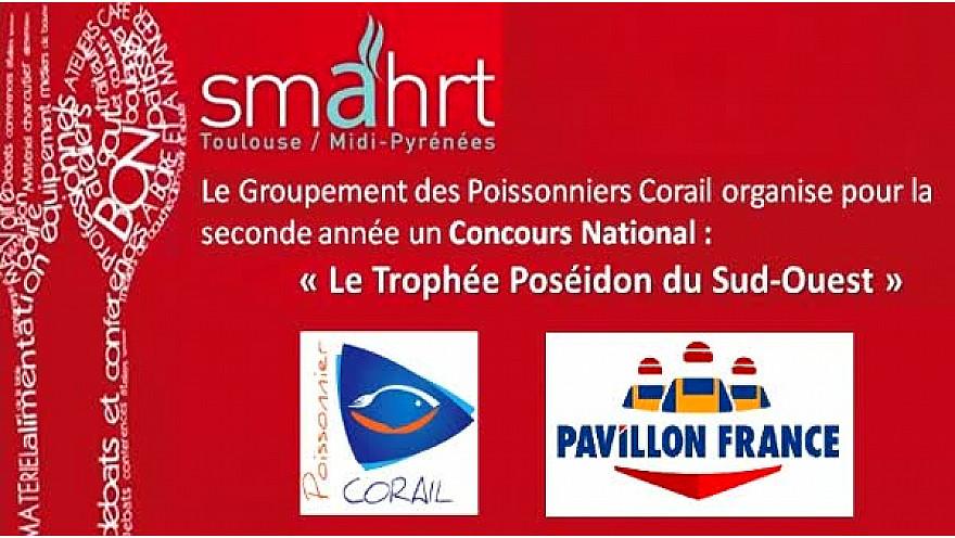 Concours Poissonnier-Ecailler 'Trophée Poséïdon du Sud-Ouest' de la #Scapp - Groupement des Poissonniers Corail @smahrt2016 #TvLocale_fr