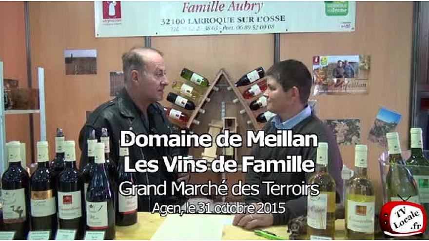 Le Floc de Gascogne du Domaine de Meillan (Gers) au Grand Marché de nos Terroirs à Agen