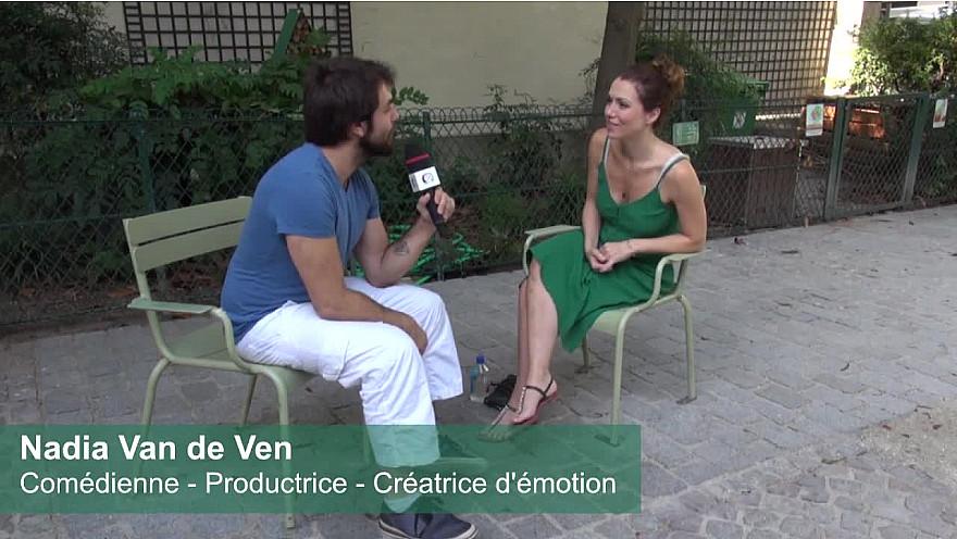 Instant de partage avec Nadia Van de Ven, comédienne aux multiples facettes.
