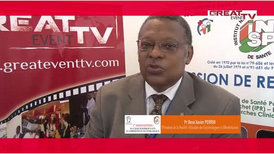Entretien avec le Pr René PERRIN, Président de la Société Africaine des Gynécologues et Obstétriciens