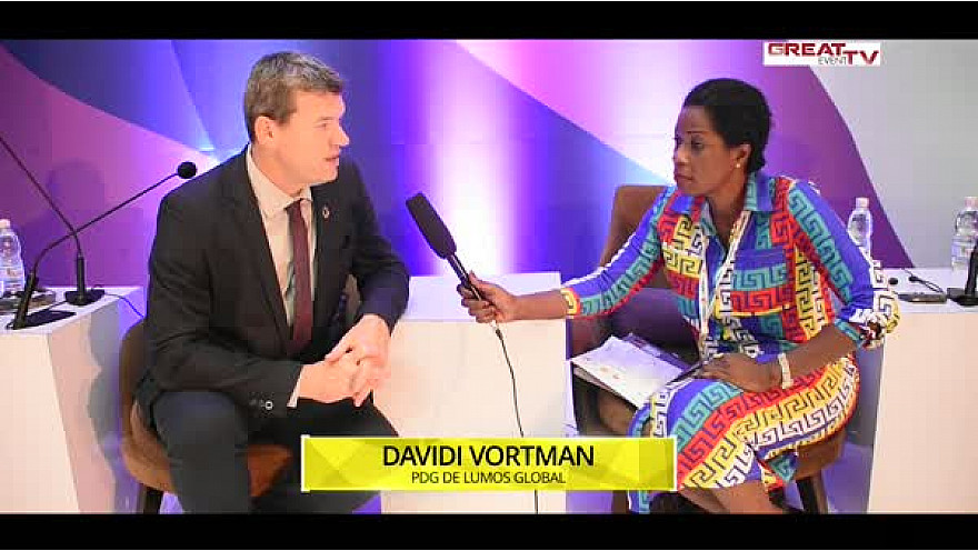 Entretien avec M. Davidi Vortman, PDG de LUMOS Global