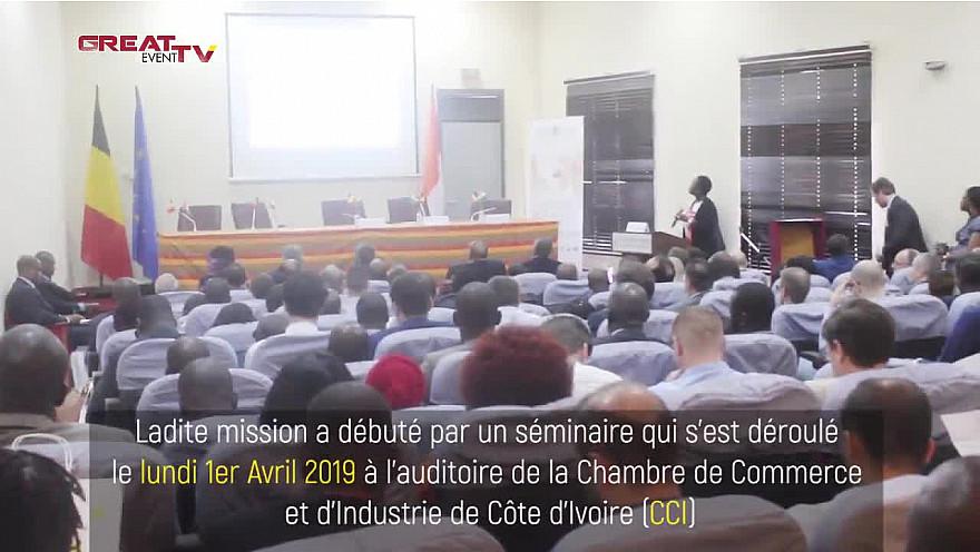 FORUM ÉCONOMIQUE IVOIRO-BELGE :  LA CÔTE D'IVOIRE, PAYS ATTRAYANT