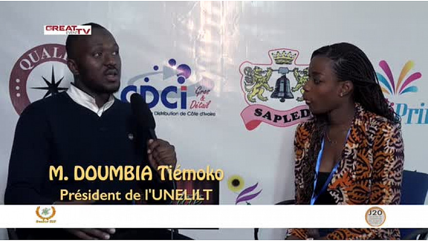 Entretien avec M. DOUMBIA Tiemoko, Président de l'UNELILT