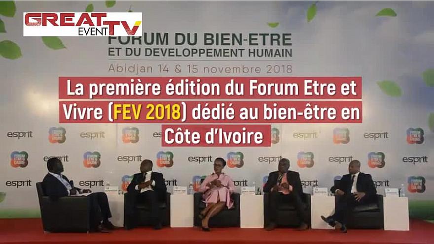 Premier forum du bien-être et du développement humain en Côte d'Ivoire