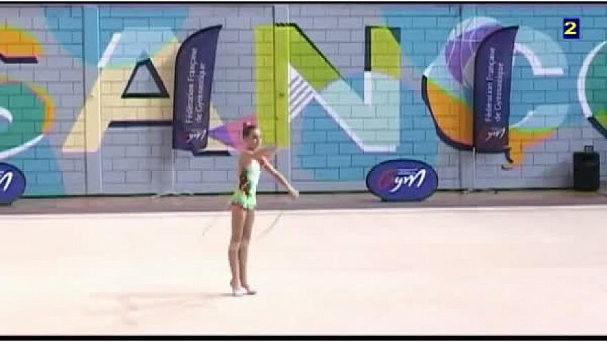 Exemples Difficultés Corde en Gymnastique Rythmique