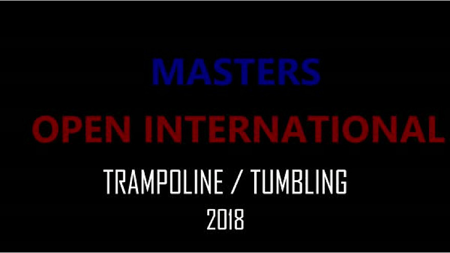 FINALE DES MASTERS TRAMPOLINE TUMBLING - COLOMIERS 12.13 OCT.2018
