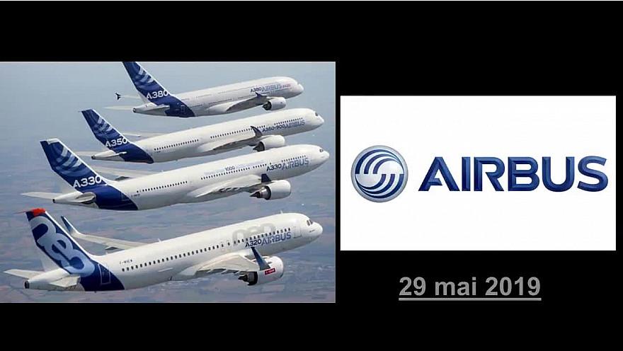 Airbus fête ses 50 ans #airbus # 50ans #aviation #toulouse #tvlocale.fr #smartrezo
