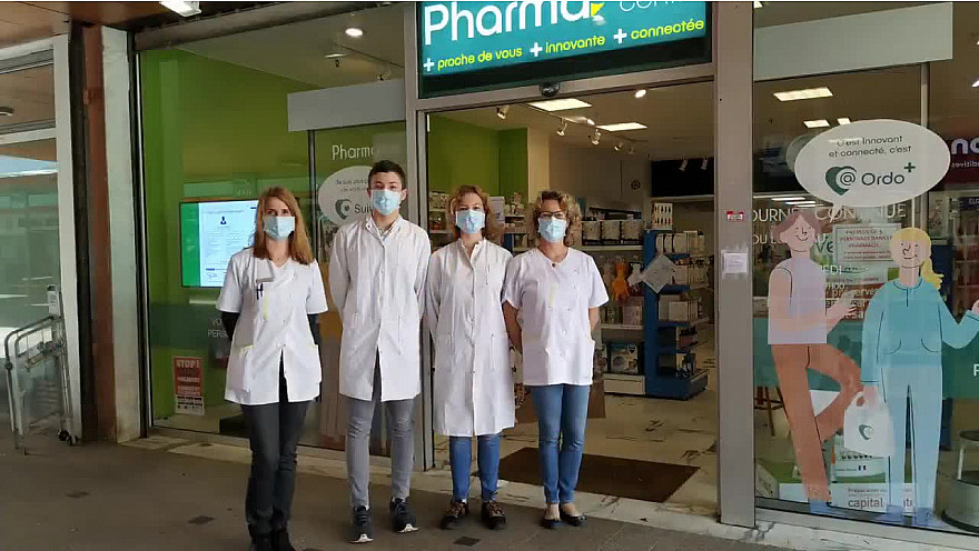 Déconfinement J-1 Pharmacie Colomiers 31 #deconfinement #covid19 #santé #masques,#tvlocale.fr