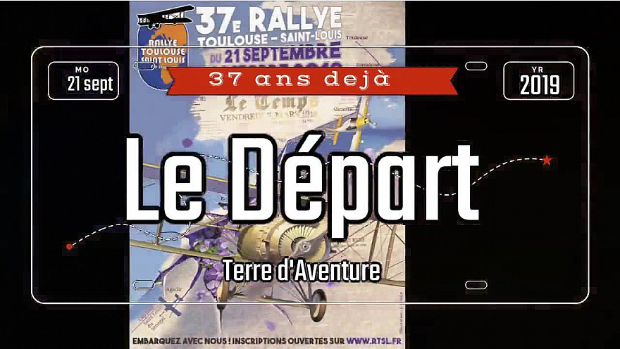 Départ du rallye aviation Toulouse St Louis #aviation #rallye #humanitaire #association #Sénégal #tvlocale.fr