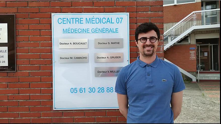 rencontre avec le Docteur Mathé, unité COVID 19 Haute Garonne #santé # pandémie #alerte #tvlocale,fr #covid19 @smartrezo.com