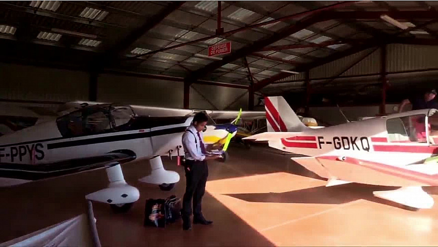 AVIATION DE TOURISME à CAZERE 31 #aviation #pilotage #aérodromes #Jodel  #tvlocale.fr