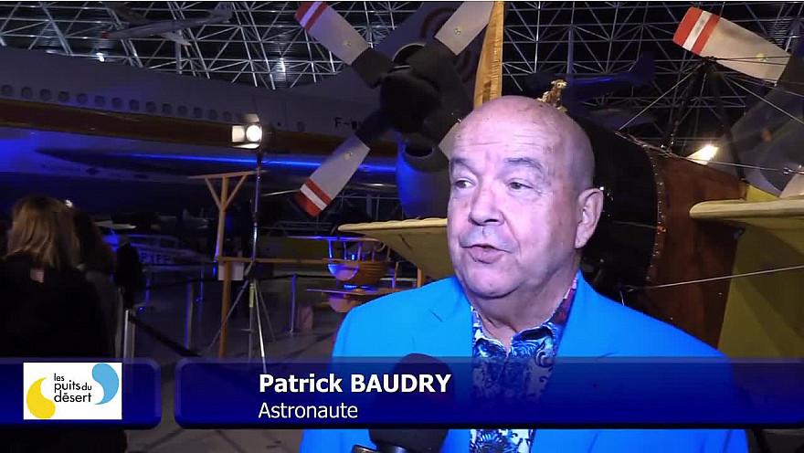 Interview Patrick BAUDRY  au gala  Les Puits du Désert #espace #association  #humanitaire #tvlocale.fr