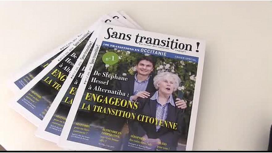 Lancement de Sans transition ! en Occitanie, la revue des citoyens engagés @SansTransition  #presse  #magazine  #TvLocale.fr