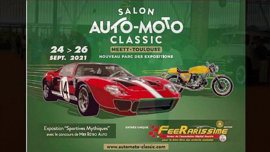 SALON AUTO MOTO CLASSIC Toulouse,  septembre 2021 #automobile #salon auto moto #voitures anciennes #citroên #tvlocale.fr