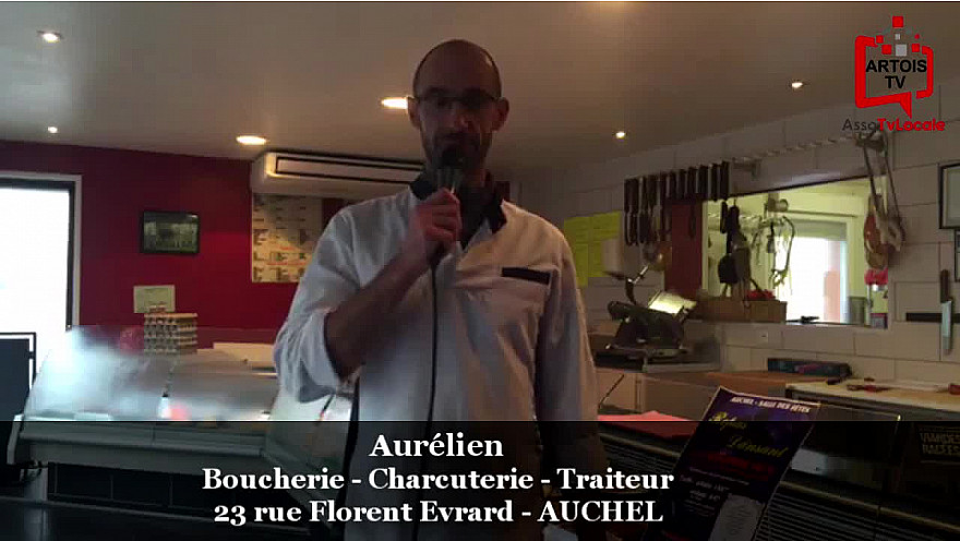 'Rendez-vous Economiques Smartrezo': Chez Aurélien Boucherie - Charcuterie -Traiteur à Auchel -Pas-De-Calais