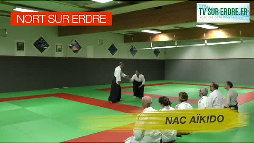 Nort-sur-Erdre : Découvrez l'Aïkido #aîkido #artsmartiaux #sport