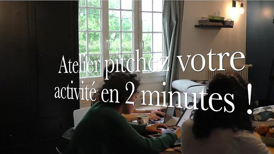 Atelier : Pitchez Votre Activité en 2 minutes