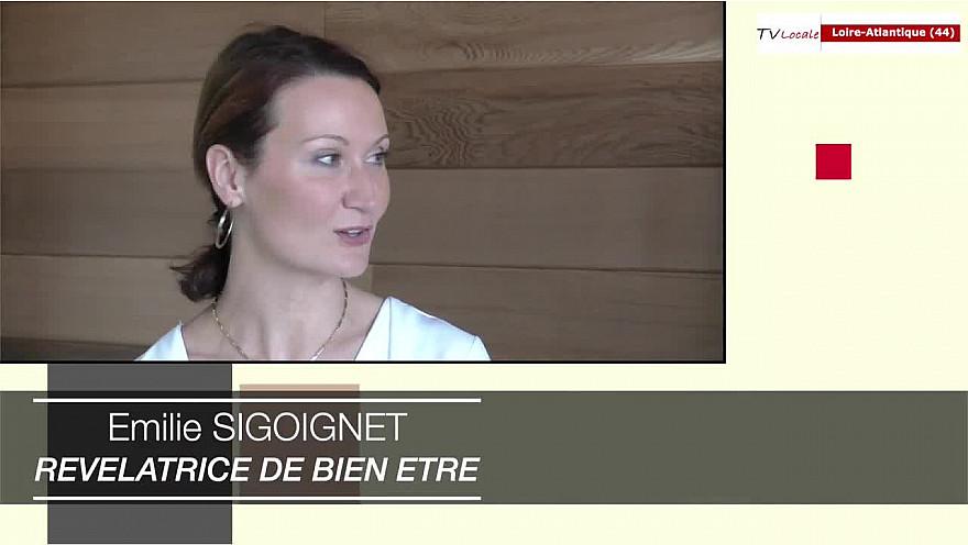 Rendez-Vous Economiques 44: Émilie Sigoignet - REVELATRICE DE BIEN ETRE en entreprise émission d'AssoTvlocale Loire-Atlantique - #Smartrezo.com