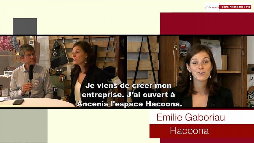 Les Rendez-vous Économiques Émilie Gaboriau Hacoona Coworking @interview