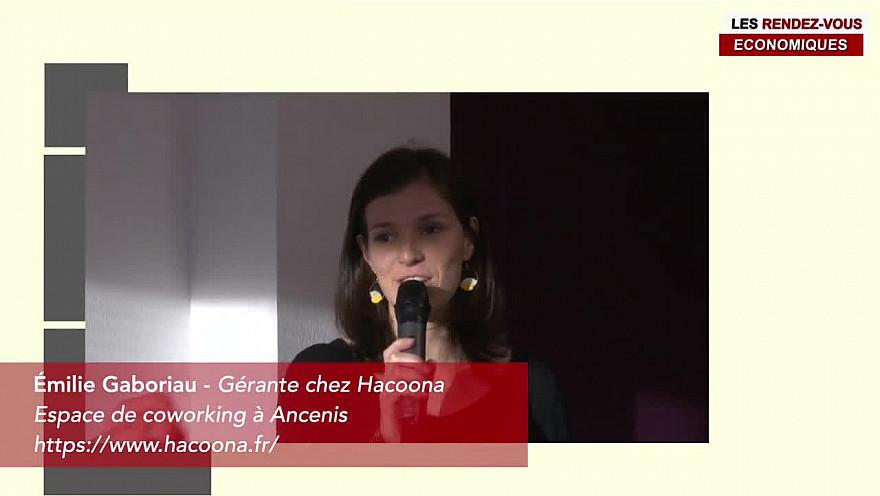 Les Rendez-vous Économiques HACOONA Emilie Gaboriau #ancenis #réseaux #entrepreneurs