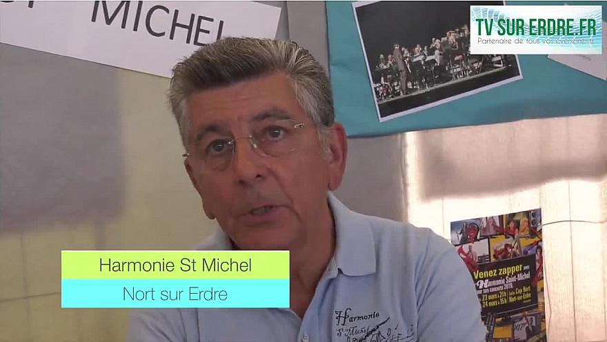 Le Forum des Associations : L'Harmonie St Michel @nortsurerdre @interview