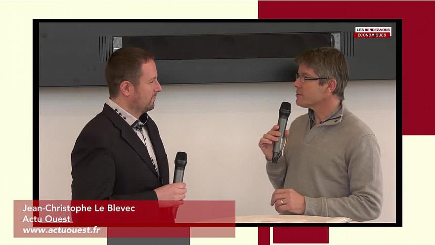 Les Rendez-vous Économiques Jean-Christophe Le Blevec #Médiacampus #Nantes #médias #journaliste #entrepreneurs