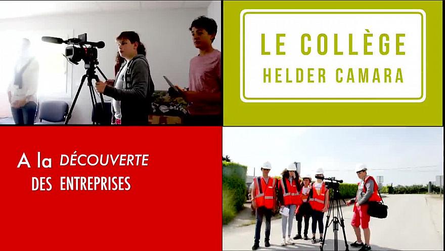 La Journée des Collégiens #heldercamara #treillières #carrièreschassé #découverteentreprise #entreprendrepourlavenir