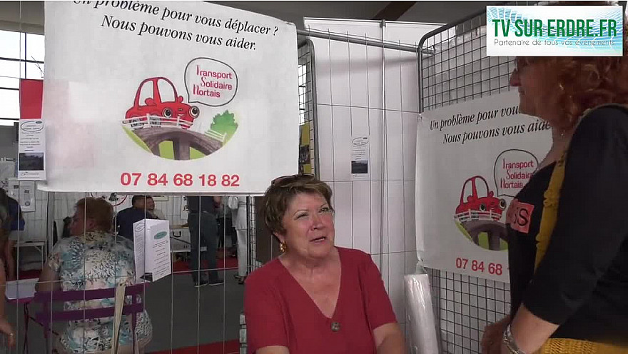 Le Forum des Associations Transport Solidaire Nortais @nortsutrerdre @interview @solidarité