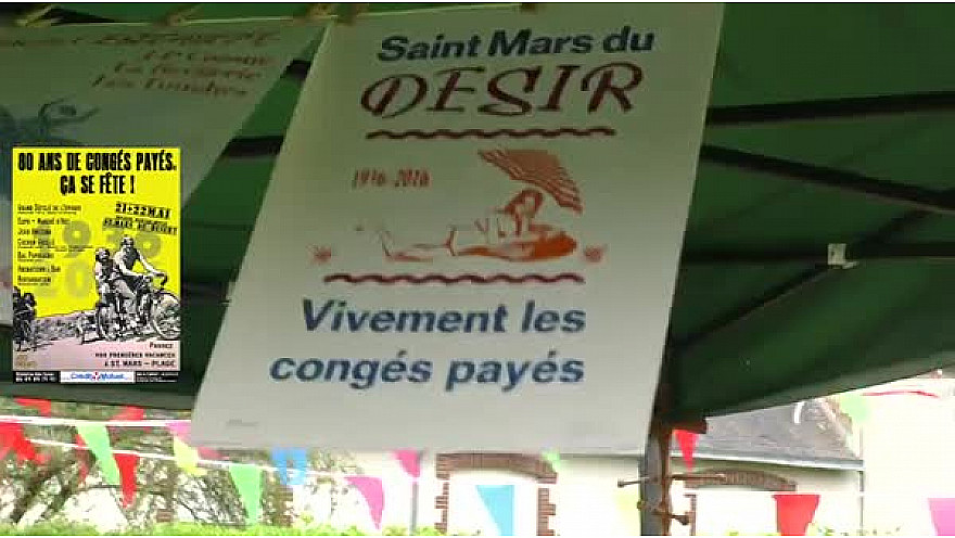 Saint Mars Du Désert : Les Congés Payés Ont 80 Ans !