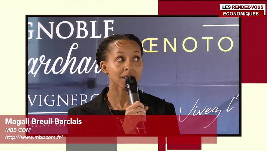 Les Rendez-vous Économiques Smartrezo 13/12 Magali Breuil-Barclais #entreprendre #valorisersonofffrecommerciale #prospectionagreable