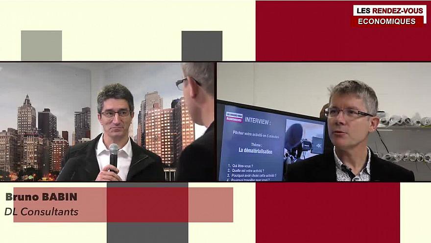 Les Rendez-vous Économiques Smartrezo Bruno Babin DL Consultants  #interview #dématérialisation