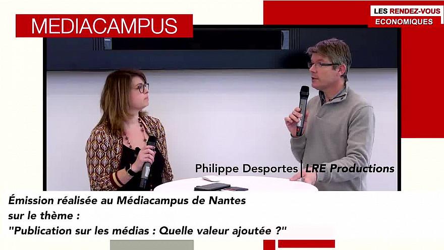 'Les Rendez-vous Économiques Smartrezo' au Médiacampus à Nantes #médias #journaliste #entrepreneurs @Smartrezo