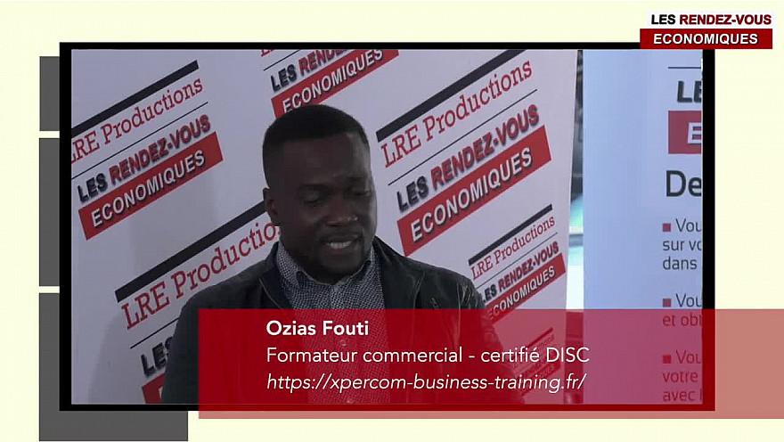 Ozias FOUTI Formateur commercial, certifié DISC