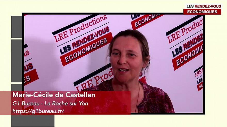 Marie-Cécile de Castellan G1 Bureau #lesrendezvouséconomiques #interview