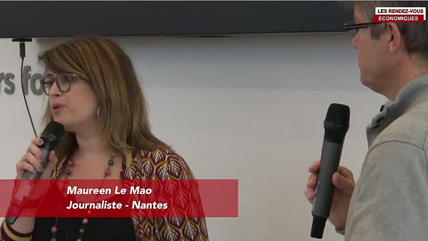 Les Rendez-vous Économiques Maureen Le Mao #Médiacampus #Nantes #médias #journaliste #entrepreneurs